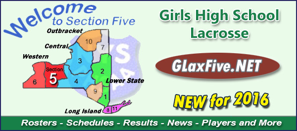Section V Girls High School Lacrosse